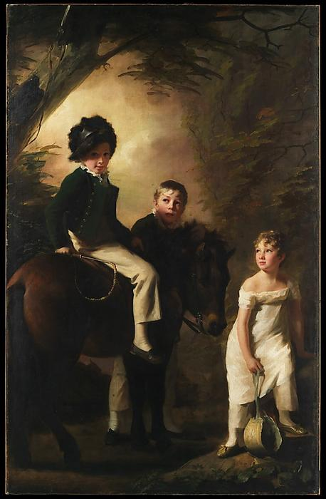 The Drummond Children, 1808 by Henry Raeburn (1756-1823, United Kingdom) | Museum Quality Reproductions | WahooArt.com