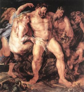 Peter Paul Rubens - The Drunken Hercules