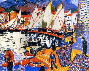 André Derain - Drying the Sails