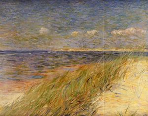 Theo Van Rysselberghe - The Dunes of Swin, Knokke
