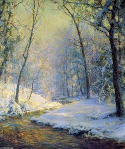 Walter Launt Palmer - The Early Snow