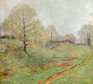 Willard Leroy Metcalf - Early Spring, Old Lyme
