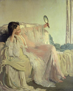 William Newenham Montague Orpen - The Eastern Gown