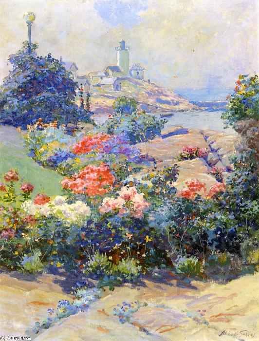 Eastern Point, Gloucester, 1913 by Abbott Fuller Graves (1859-1936, United States) | Art Reproduction | WahooArt.com