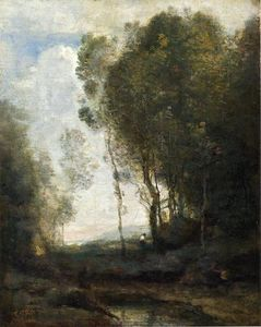 Jean Baptiste Camille Corot - The Edge of the Forest