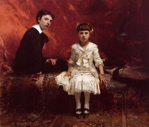 John Singer Sargent - Edouard and Marie Louise Pailleron