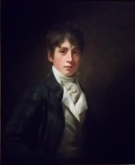 Edward Satchwell Fraser, 1803 by Henry Raeburn (1756-1823, United Kingdom) | Museum Quality Reproductions | WahooArt.com