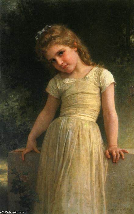 Elpieglerie, Oil On Canvas by William Adolphe Bouguereau (1825-1905, France)