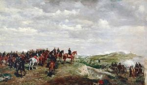 Jean Louis Ernest Meissonier - The Emperor Napoleon III at the Battle of Solferino