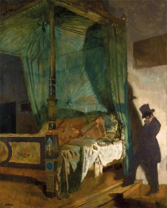 The Empty Bed by William Newenham Montague Orpen (1878-1931, Ireland) | Famous Paintings Reproductions | WahooArt.com