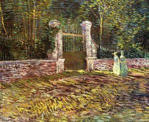 Ladies Of Arles Memories Of The Garden At Etten Oil