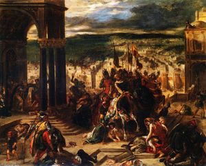 Eugène Delacroix - Entry of the Crusaders into Constantinople