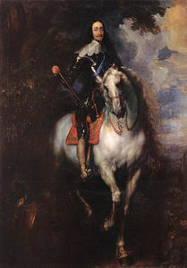 Anthony Van Dyck - Equestrian Portrait of Charles I, King of England