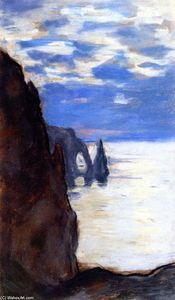 Claude Monet - Étretat, the Needle Rock and Porte d'Aval