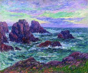 Henri Moret - Evening at Ouessant