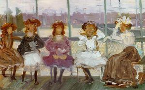 Maurice Brazil Prendergast - Evening on a Pleasure Boat