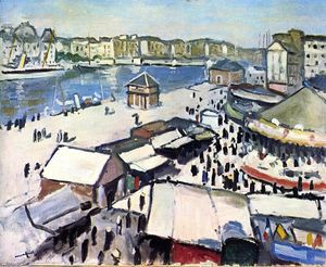 Albert Marquet - Fair at Le Havre