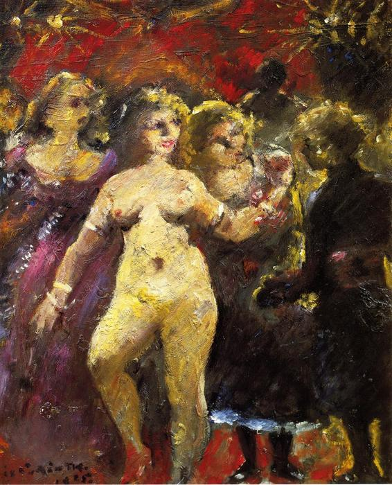 The Fair Imperia, Painting by Lovis Corinth (Franz Heinrich Louis) (1858-1925, Netherlands)