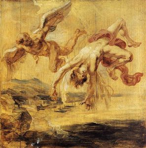 Peter Paul Rubens - The Fall of Icarus
