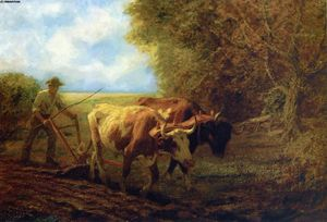 Edward Henry Potthast - Fall Plowing