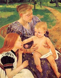 Mary Stevenson Cassatt - The Family