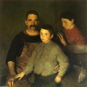 Charles Webster Hawthorne - The Family