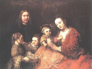 Rembrandt Van Rijn - Family Group
