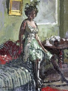 Walter Richard Sickert - Fancy Dress, Miss Beerbohm