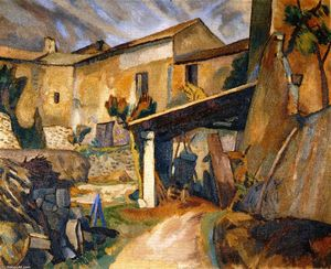 Roger Fry - Farm-buildings, France