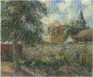 Gustave Loiseau - Farm in Normandy