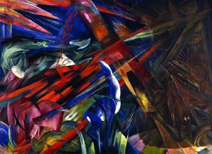 Franz Marc - Fate of the Animals