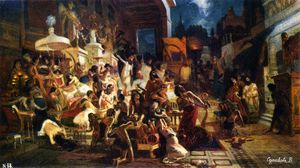 Vasili Ivanovich Surikov - The Feast of Belshazzar