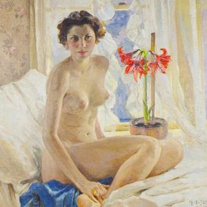 Mathias Joseph Alten - Female Nude