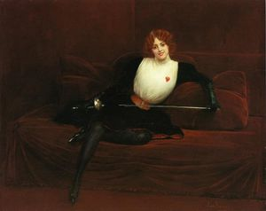 Jean Georges Béraud - The Fencer