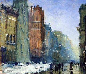 Arthur Clifton Goodwin - Fifth Avenue, New York