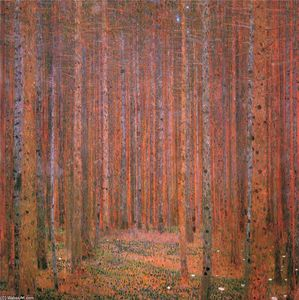 Gustav Klimt - Fir Forest I