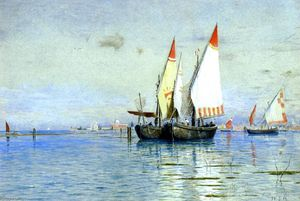 William Stanley Haseltine - Fishing Boats, Venice