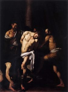 Caravaggio (Michelangelo Merisi) - The Flagellation of Christ
