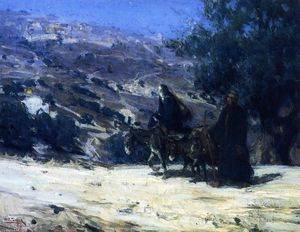 Henry Ossawa Tanner - Flight into Egypt