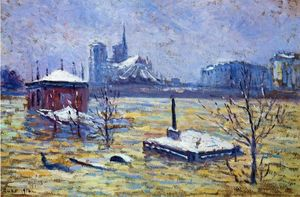 Maximilien Luce - The Flood