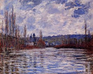 Claude Monet - The Flood of the Seine at Vetheuil