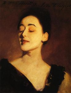 John Singer Sargent - Flora Priestley (also known as Lamplight Study)