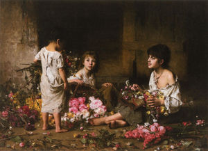 Alexei Alexeievich Harlamoff - The Flower Girls