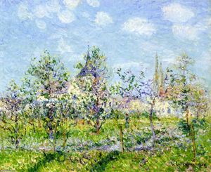 Gustave Loiseau - Flowering Orchard, Spring