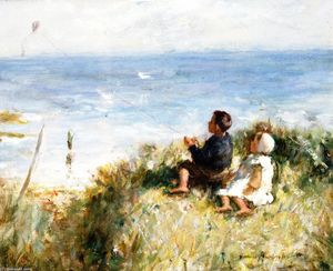 Robert Gemmell Hutchison - Flying the Kite