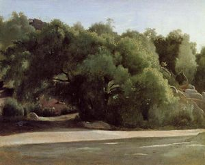 Jean Baptiste Camille Corot - Fontainebleau - the Chailly Road