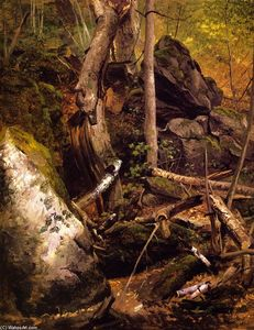 William Holbrook Beard - Forest Interior