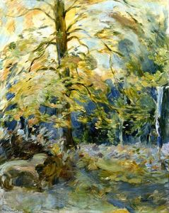 Berthe Morisot - Forest of Fontainebleau
