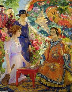 Colin Campbell Cooper - Fortune Teller