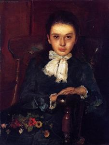 John Butler Yeats - Frances Elizabeth Geoghegan as a Child